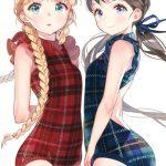 【二次】三つ編みヘアーが可愛いすぎる女の子w:vol3