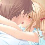 エッチにキスしてるかわいい画像